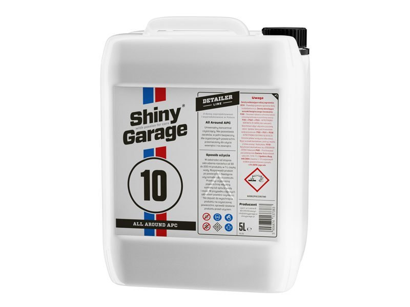 Shiny Garage All Around APC 5L (All Purpose Cleaner) - GRUBYGARAGE - Sklep Tuningowy